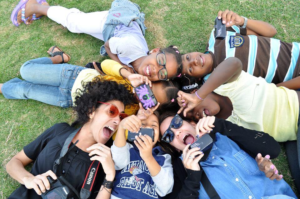 Taller de Fotografía Participativa realizado con niños y niñas en Cuba. Contrapunto Social.